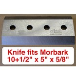 "Bandit® Parts Knife, 10+1/2""  X 5"" X  5/8""  Morbark M12, 14, 15 Tornado"