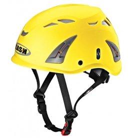 KASK Yellow Plasma Work Helmet with Adapter for Ear Defenders