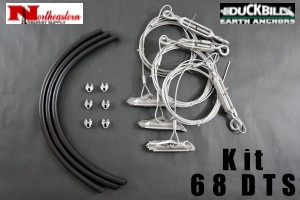 DuckBill Anchor Kit Model 68 DTS