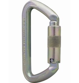 ISC Carabiner, SMALL IRON WIZARD 70kn MBS SUPERSAFE Steel