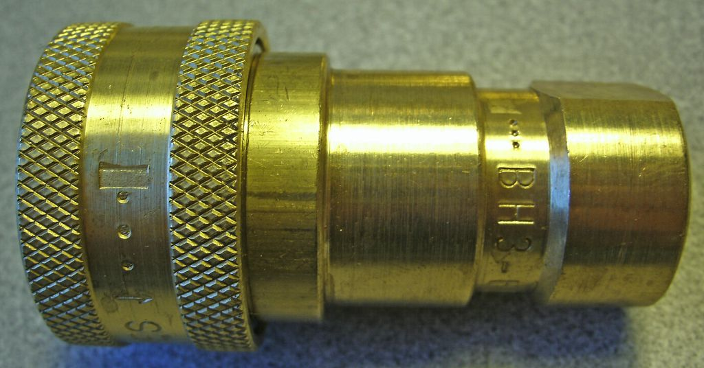 "PARKER Quick Coupler BH3-60 3/8"" Female NPT inlet"