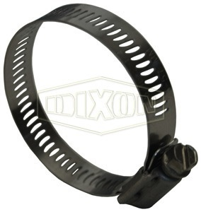 "DIXON Worm Gear Hose Clamp 7/16"" to 25/32"""