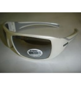 STIHL® White Ice Glasses with Silver Mirror Lens