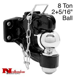 "Bandit® Parts Hitch Combination with 2+5/16"" Ball, 8 Ton"