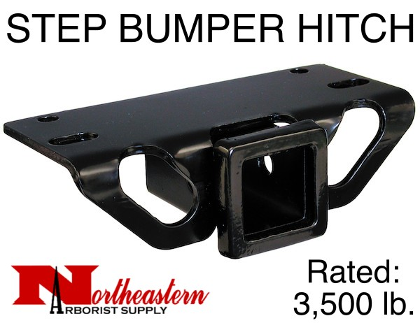 Buyers STEP BUMPER HITCH, Rated to 3,500# M.G.T.W.