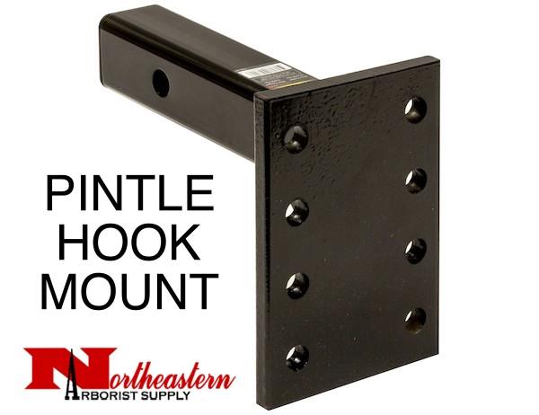"Buyers Pintle Mount Plate, 3 Position, 2"" x 10"" Shank 13,000# MGTW"