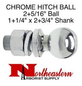 """Buyers Ball 2+5/16"""", Replacement, Shank Diameter 1+1/4"""""""" x 2+3/4"""" Shank Length, 10,000# M.G.T.W."""