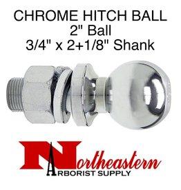 """Buyers Ball 2"""", Replacement, Shank Diameter 3/4"""" x 2+1/8"""" Shank Length, 3,500# M.G.T.W."""