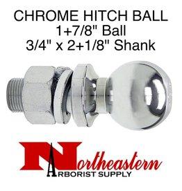 """Buyers Ball 1+7/8"""", Replacement, Shank Diameter 3/4"""" x 2+1/8"""" Shank Length, 3,500# M.G.T.W."""