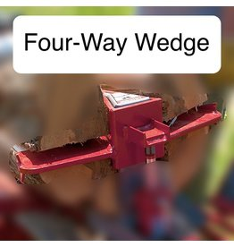 Timberwolf Four-Way Wedge, Large