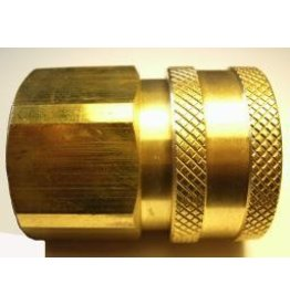 "PARKER HANNIFIN High Flow (Unvalved) Quick Coupler 3/4"" Female Pipe Thread"