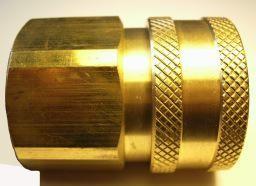 "PARKER High Flow (Unvalved) Quick Coupler 3/4"" Female Pipe Thread"