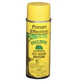 """TreeKote 12oz. Aerosol TREE WOUND DRESSINGS The most versatile tree wound dressing on the market. """"Treekote"""" Tree Wound Dressing is an Asphalt based emulsion formulated to protect trees after pruning or accidental damage.  When applied to pruned or damage"""