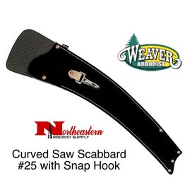 Weaver Curved Saw Scabbard #25 with Snap Hook