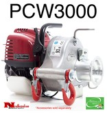 """PORTABLE WINCH CO. Portable Capstan Winch 1,545# Max Pull with 2 hooks & a anchor sling 6"""""""