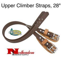 "Weaver Upper Climber Straps, 28"" coated webbing"