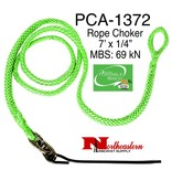 """PORTABLE WINCH CO. Rope Choker 7' x 1/4"""" with steel Pin, 69 kN MBS"""