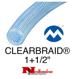 "Kuriyama Hose, Suction CLEARBRAID® 1+1/2"" ID"