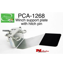 PORTABLE WINCH CO. Winch Support Plate with Hitch Pin