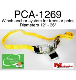 "PORTABLE WINCH CO. Tree Mount Winch Anchor with Strap (2"" X 10')"