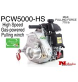 PORTABLE WINCH CO. High Speed gas-powered pulling winch, Max. Pull=770#
