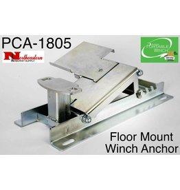 PORTABLE WINCH CO. Floor Mount Winch Anchor