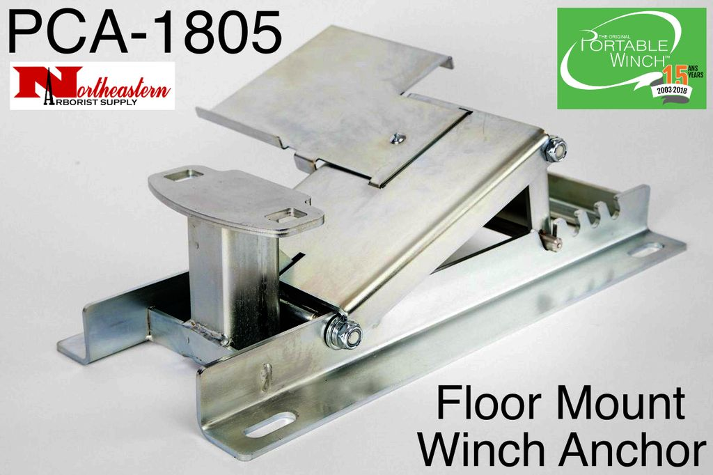 PORTABLE WINCH CO. Floor Mount Winch Anchor
