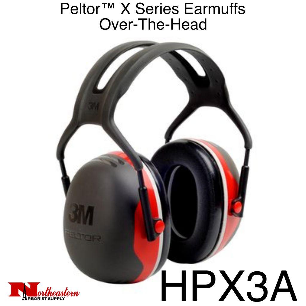 3M PELTOR X3A Over-the-Head Earmuffs
