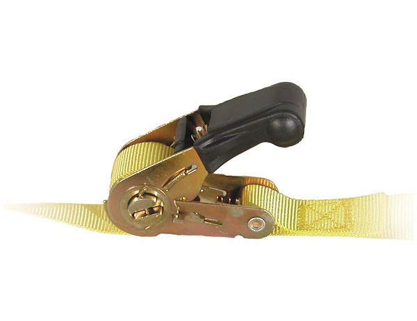 Buyers Ratchet Tie Down Strap 1'' X 12' Working Load Limit 600lbs.