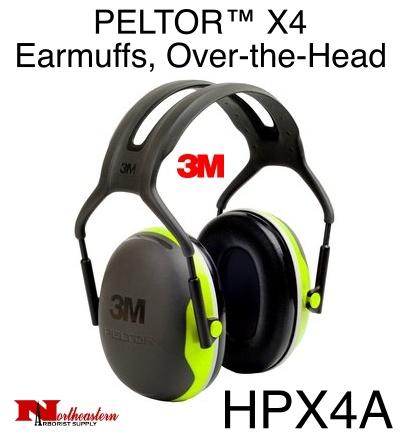 3M PELTOR X4A Over-the-Head Earmuffs