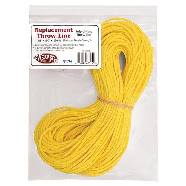 Weaver 150' Yellow Polyethylene Slick Line