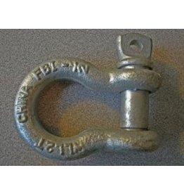 "Fehr Bros. Anchor Shackle 1/2"" Screw Pin"