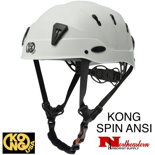 KONG Spin Helmet, White, the new professional shock-absorbing helmet.