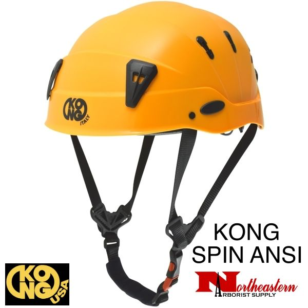 KONG Spin Helmet, Orange, the new professional shock-absorbing helmet.