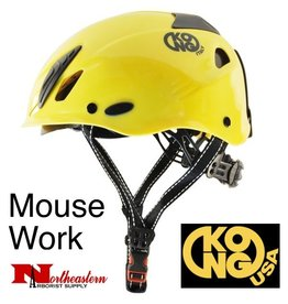 KONG Mouse WORK Climbing Helmet, Yellow