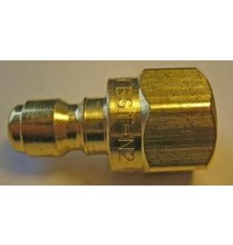 "PARKER High Flow (Unvalved) Quick Nipple 1/4"" Female Pipe Threads"