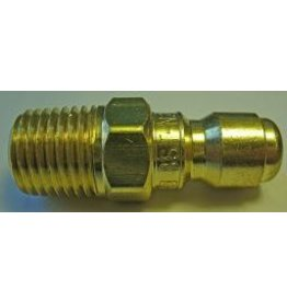"PARKER High Flow (Unvalved) Quick Nipple 1/4"" Male Pipe Threads"