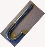 """Fehr Bros. J-LAG 5/8""""  Left Hand Thread, Zinc Plated"""