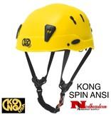 KONG Spin Helmet, Yellow, the new professional shock-absorbing helmet.