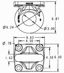 "Buyers Pintle Ring 3"", HD 15,000# M.V.L. 60,000# M.G.T.W."