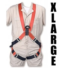 "Bashlin FULL BODY HARNESS XL with 24"" ""D"" Extension 6'3""-6'6"" 48"" chest"