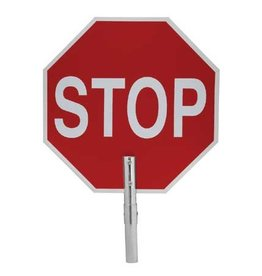 Fred Marvin Stop / Slow Sign for Fiberglass Poles