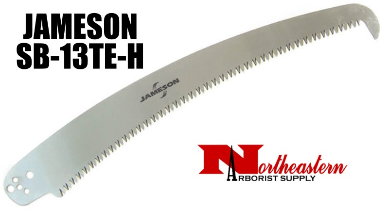"""Jameson Saw Blade, 13"""" Tri-Cut with hook end"""
