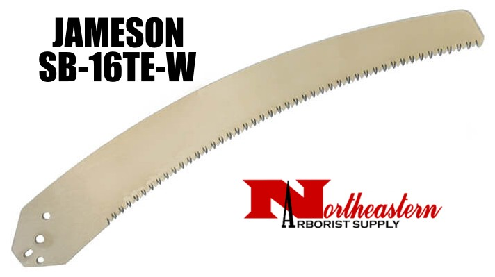 "Jameson Tri-Cut Saw Blade, 16"" Long, a Wider and Thicker Blade"