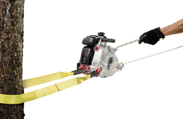 PORTABLE WINCH CO. Portable Capstan Winch with 2 hooks & 1 anchor sling 6""