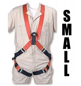 "Bashlin FULL BODY HARNESS Small with 24"" ""D"" Extension 5'4""-5'7"" 36"" chest"