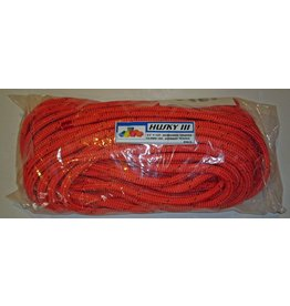 "All Gear Inc. BULL ROPE 3/4"" x 150' 23,000# ATS When New, Orange w/Green Tracer"