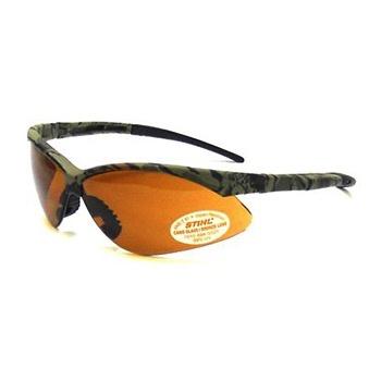 STIHL® Camo Safety Glasses with Smoke Len