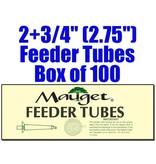 "Mauget FEEDER TUBES (100) 2+3/4"""