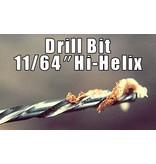 Mauget High Helix DRILL BIT 11/64''
